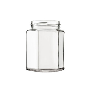 POT VERRE HEXAGONAL 288ml TO63