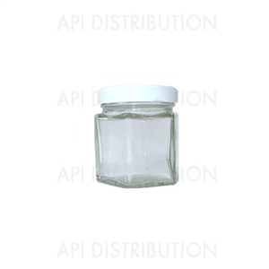 POT VERRE HEXAGONAL 47ml TO43